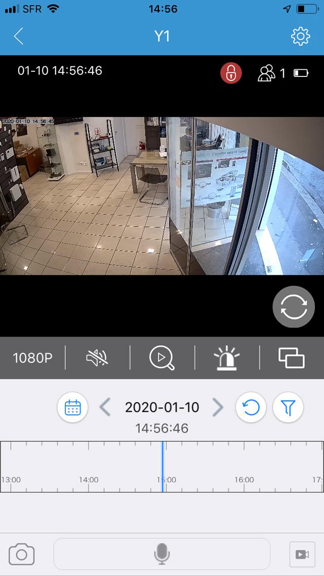 Caméra et alarme Protectoris